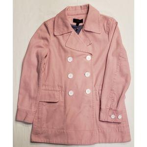 J. Crew Pea Coat in Heavy Weight Cotton Twill